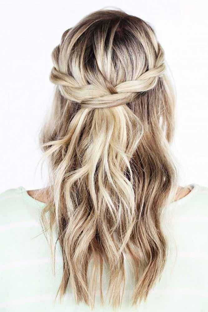 bridesmaids hairstyles-for long hair