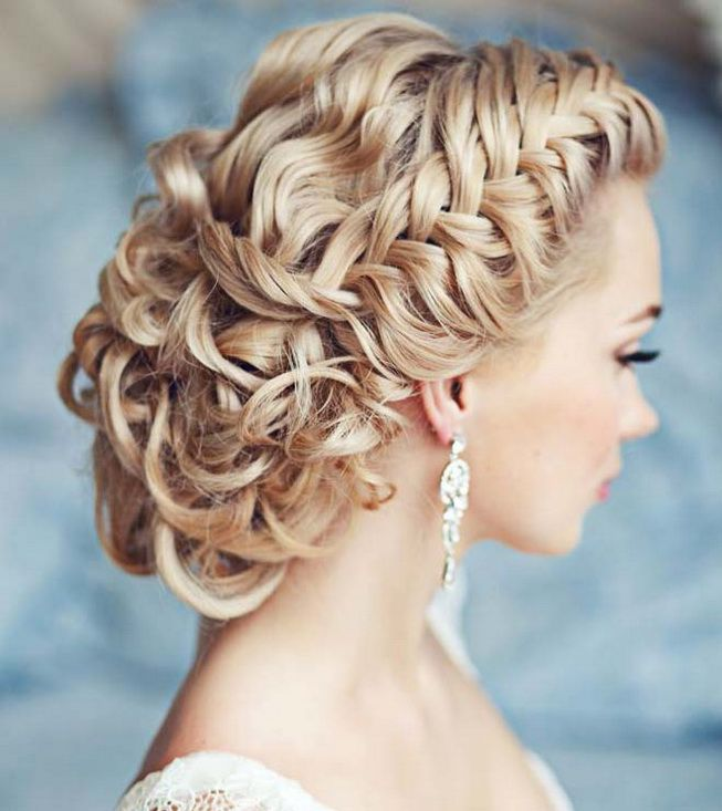 cute bridesmaid hairstyles for long hair
