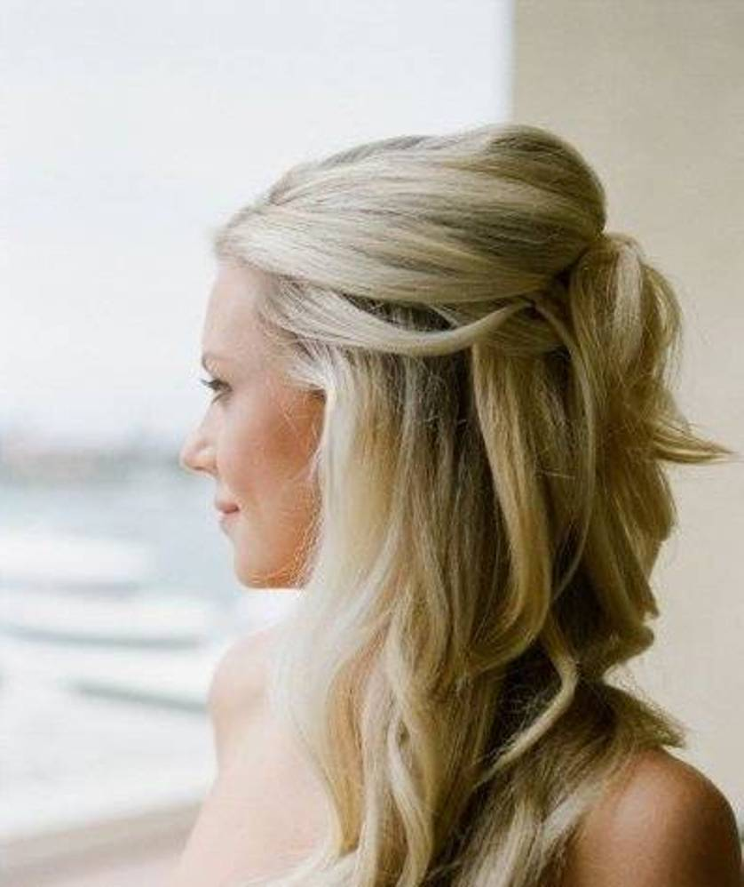 25 most charming bridesmaid hairstyles for long hair - hottest