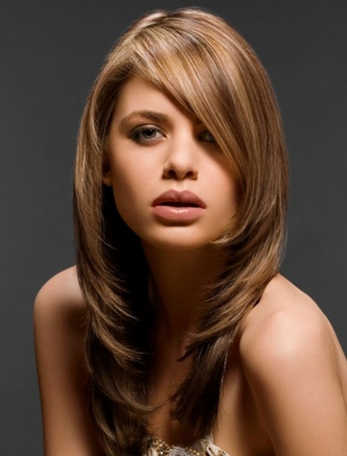 Phenomenal 26 Most Glamorous Looking Haircuts With Side Bangs Hottest Haircuts Hairstyles For Women Draintrainus
