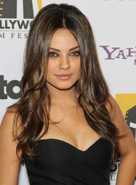 Beautiful Celebrity Long Hairstyles