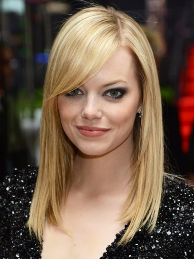 26 most glamorous looking haircuts with side bangs - hottest haircuts