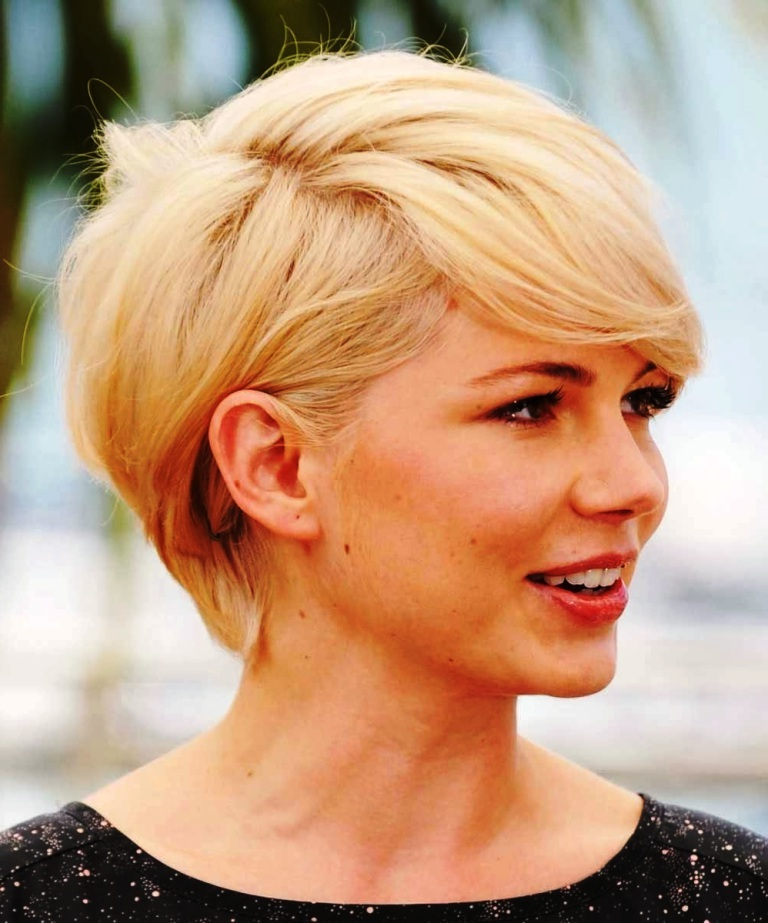 40 Gorgeous Short Hairstyles for Round Face Shapes - Haircuts ...