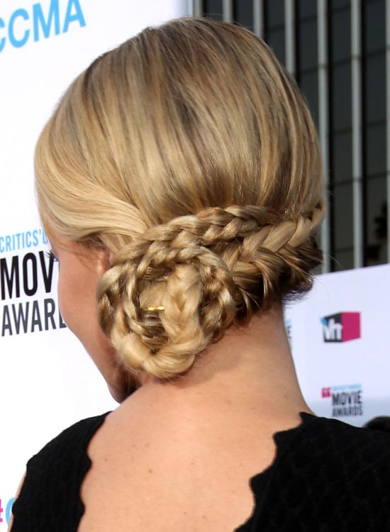 low-braid-chignon