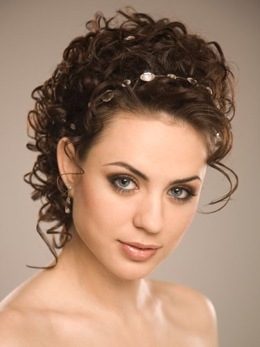 new hair styles for curly hair 25 simple and stunning updo hairstyles for curly hair 6837