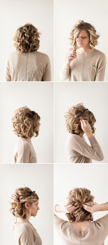 New Updo Hairstyles for Black Tie event