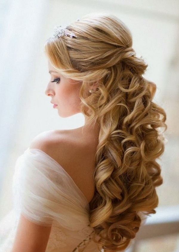Wedding Hairstyles For Long Hair indian wedding hairstyles for long hair ms Half Up Half Down Wedding Hairstyles