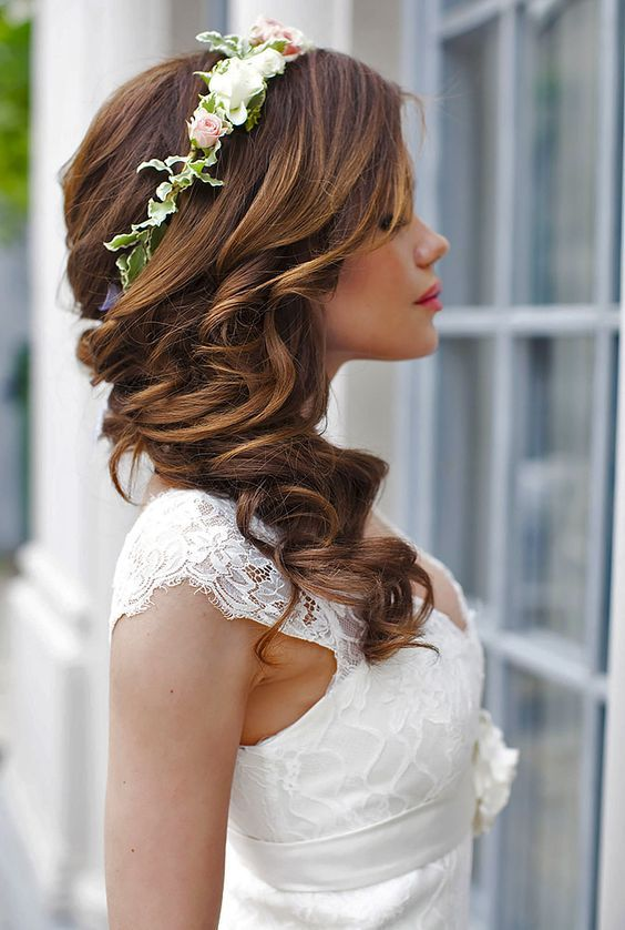 22 Most Stylish Wedding Hairstyles For Long Hair - Haircuts ...