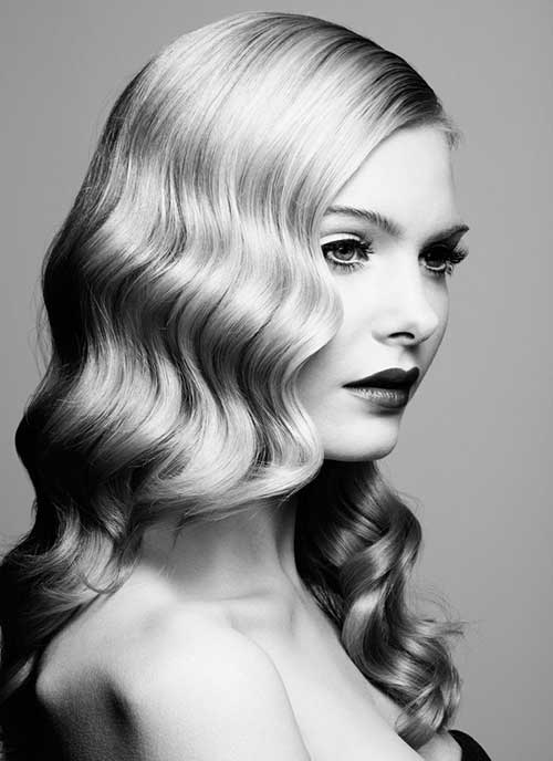 Easy Vintage Hairstyles For Curly Hair : Most timeless and classic hairstyles for women