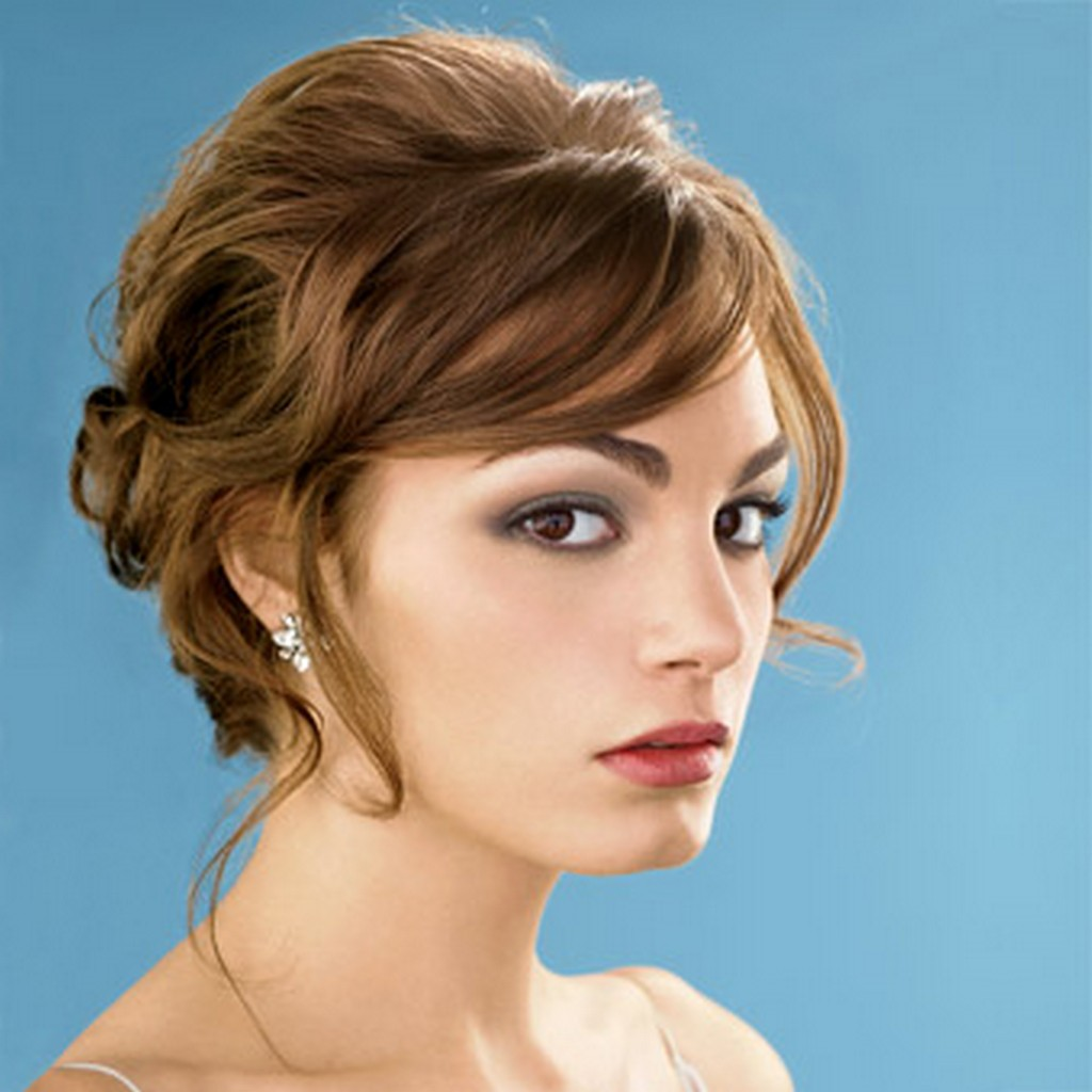 23 most glamorous wedding hairstyle for short hair - hottest haircuts