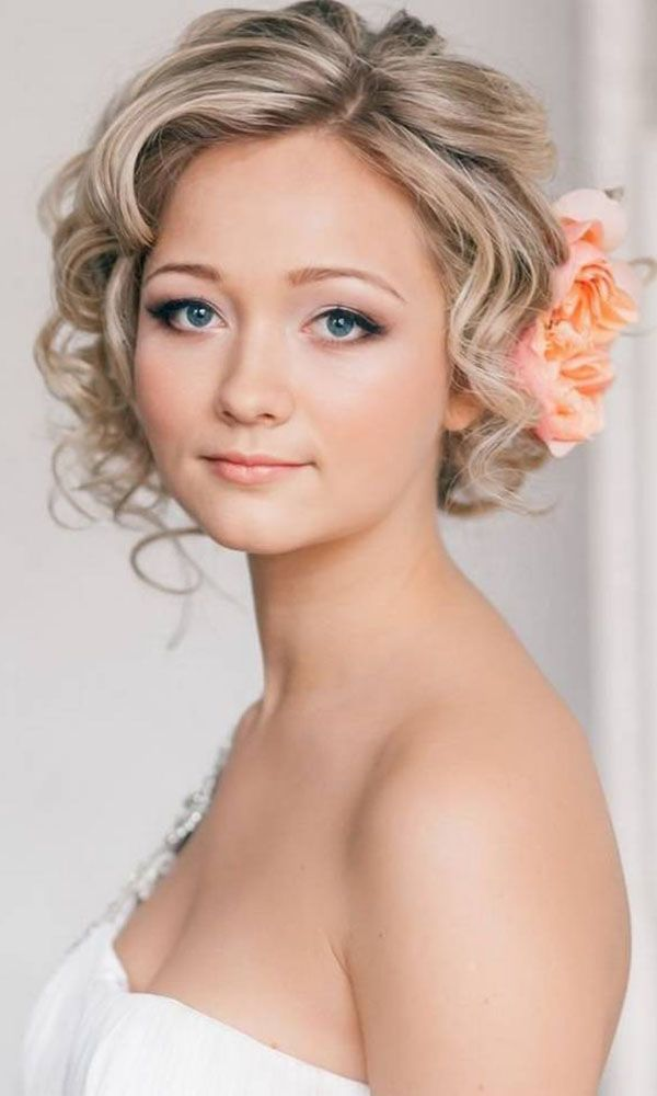 23 Most Glamorous Wedding Hairstyle for Short Hair ...