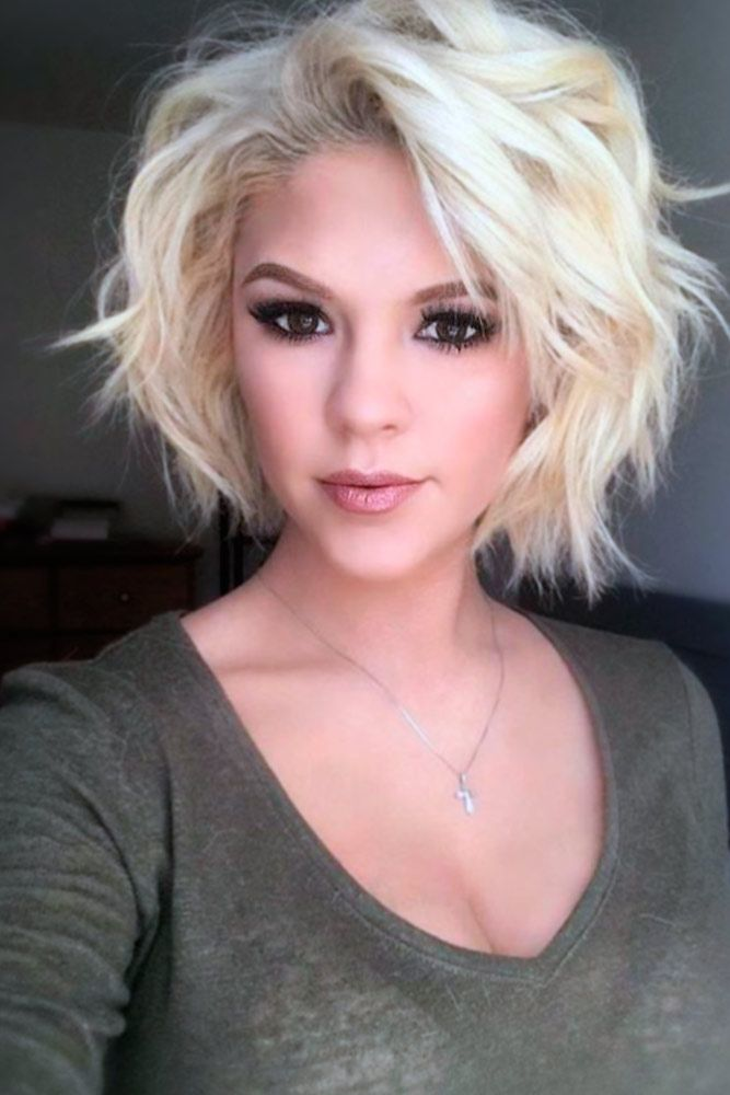 short choppy bob haircut 15 best and coolest wavy hairstyles haircuts 4257 | Short Bob Choppy Haircut