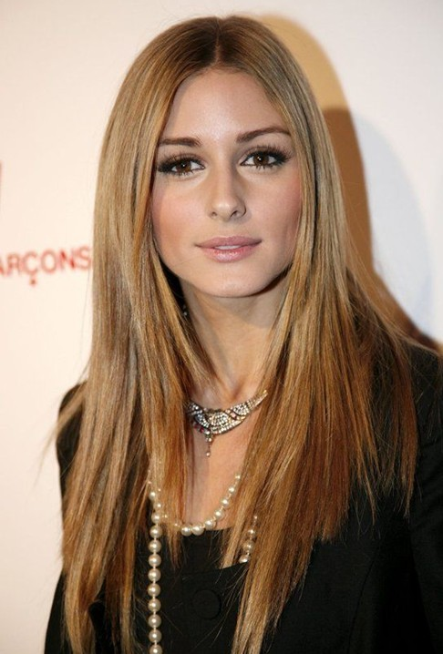 Celebrity Style Long Straight Hair