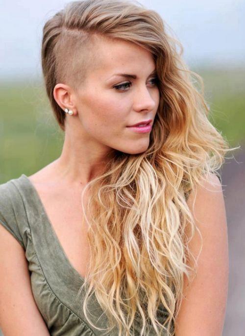 Long Undercut Hair