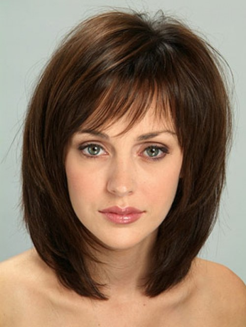Medium Length Layered Bob Haircut