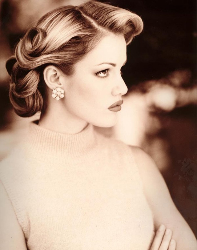 25 Classic And Beautiful Vintage Wedding Hairstyles Haircuts