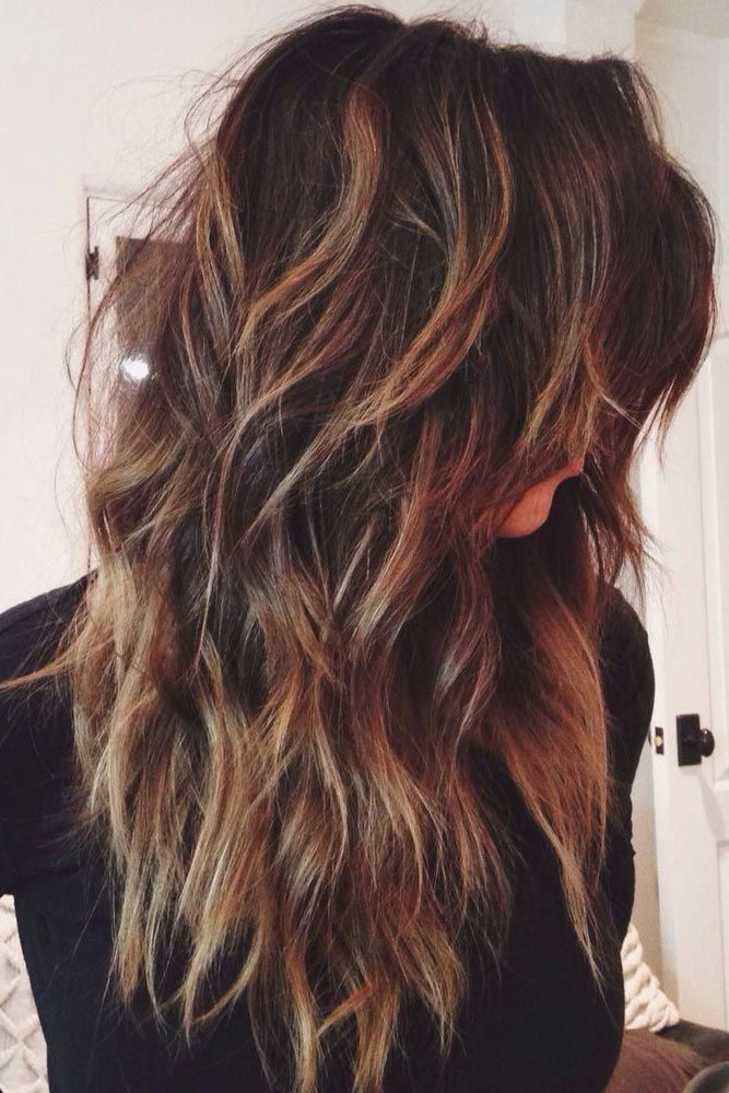 20 Glamorous Long Layered Hairstyles for Women - Haircuts ...