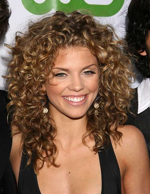 Naturally Curly Medium Hair