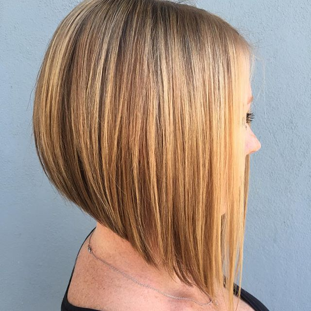 Inverted A-Line Bob Hairstyles