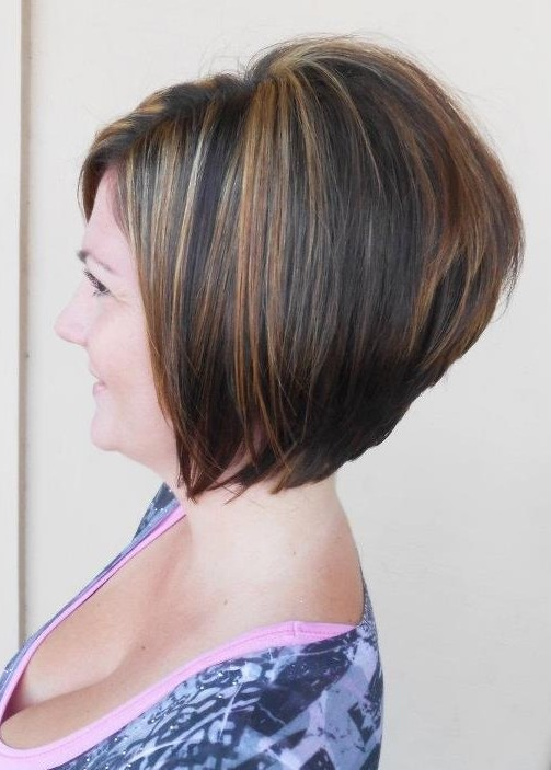 Short Stacked A-Line Bob