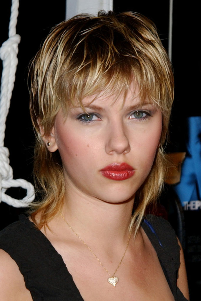 Short to Medium Blonde Hair