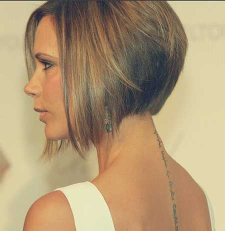 20 of the most hottest a line bob hairstyles hottest haircuts victoria beckhams a line bob urmus Gallery