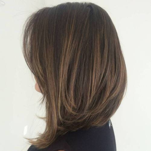 Highlighted Long Bob