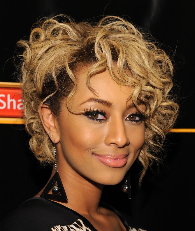 Keri Hilson Curly Hairstyle