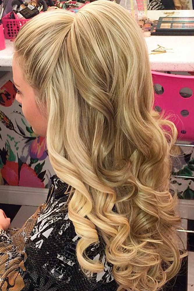25 Most Attractive and Beautiful Half Up Half Down Hairstyles ...