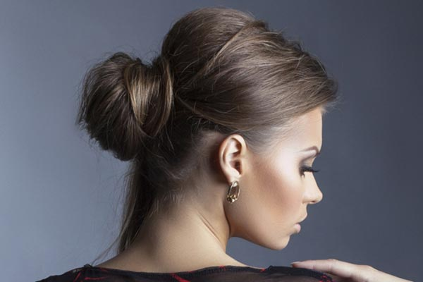 22 Most Attractive Bun Updos for Gorgeous Women - Haircuts ...