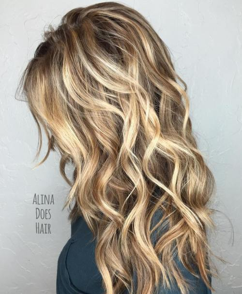 Long Layered Blonde Hair