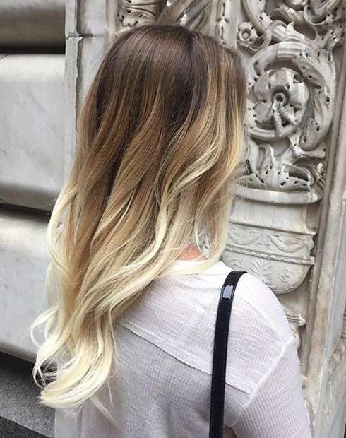 Blonde Balayage Hair