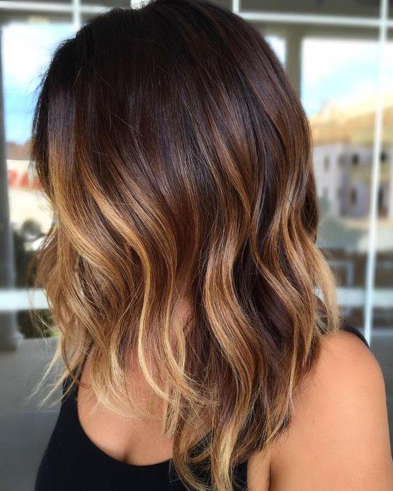 Blonde on Brown