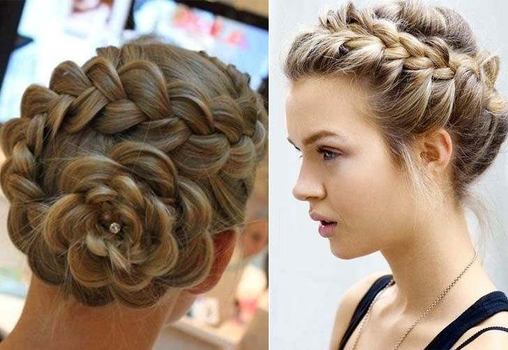 31 Cute And Elegant Braided Hairstyles For Women Haircuts Hairstyles 2020