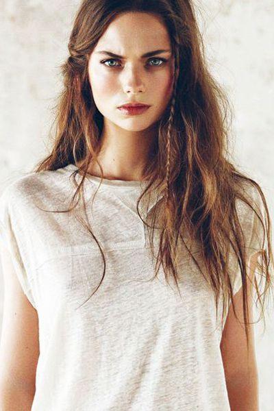 Braided Messy Hair