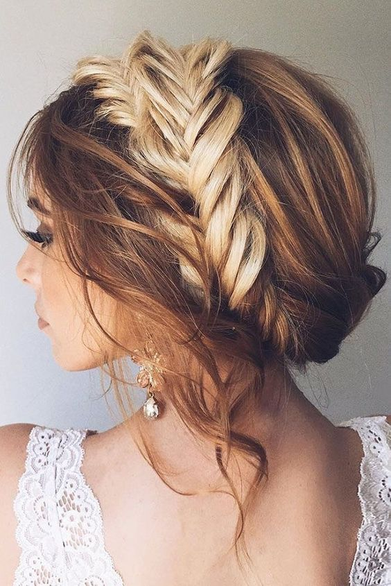Fishtail Milkmaid Braids