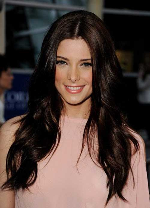 Long Dark Brown Hair
