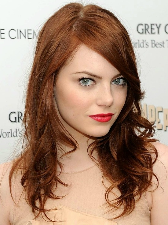 Long Layered Red Hair