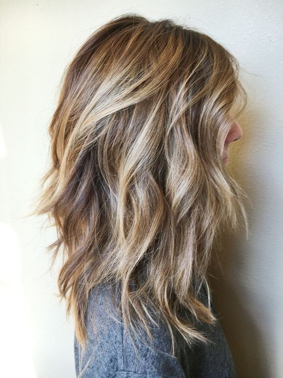 Medium Lob with Layers