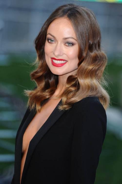 Olivia Wilde Wavy Haircut
