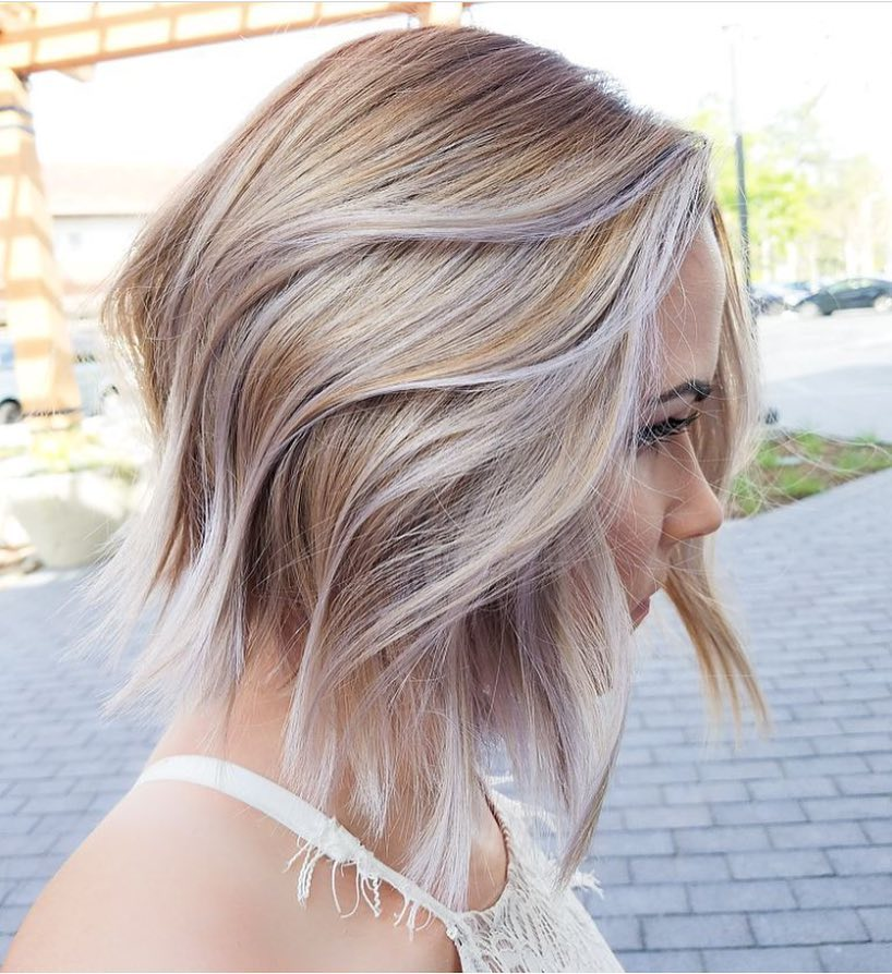 Ombre Short Layered Hair
