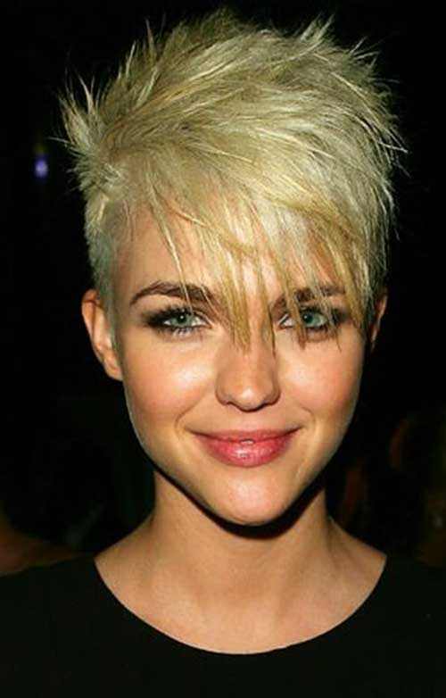Ruby Rose Short Blonde Pixie