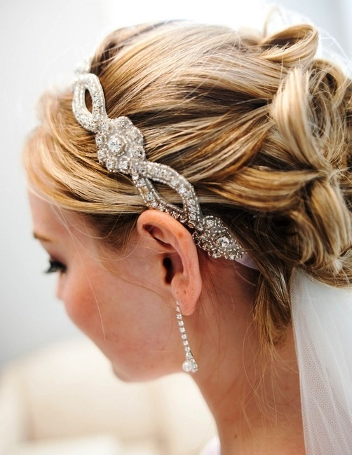 Swept Updo with Headband
