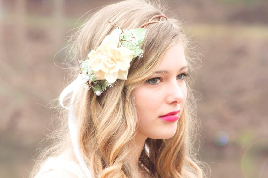 30 Elegant and Graceful Wedding Hairstyles with Flowers - Haircuts & Hairstyles 2018