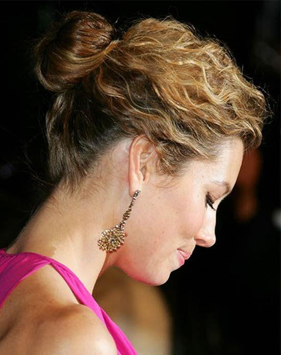 Finger Waved Bun Updo