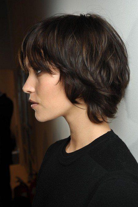 Naturally Wavy Short Hair