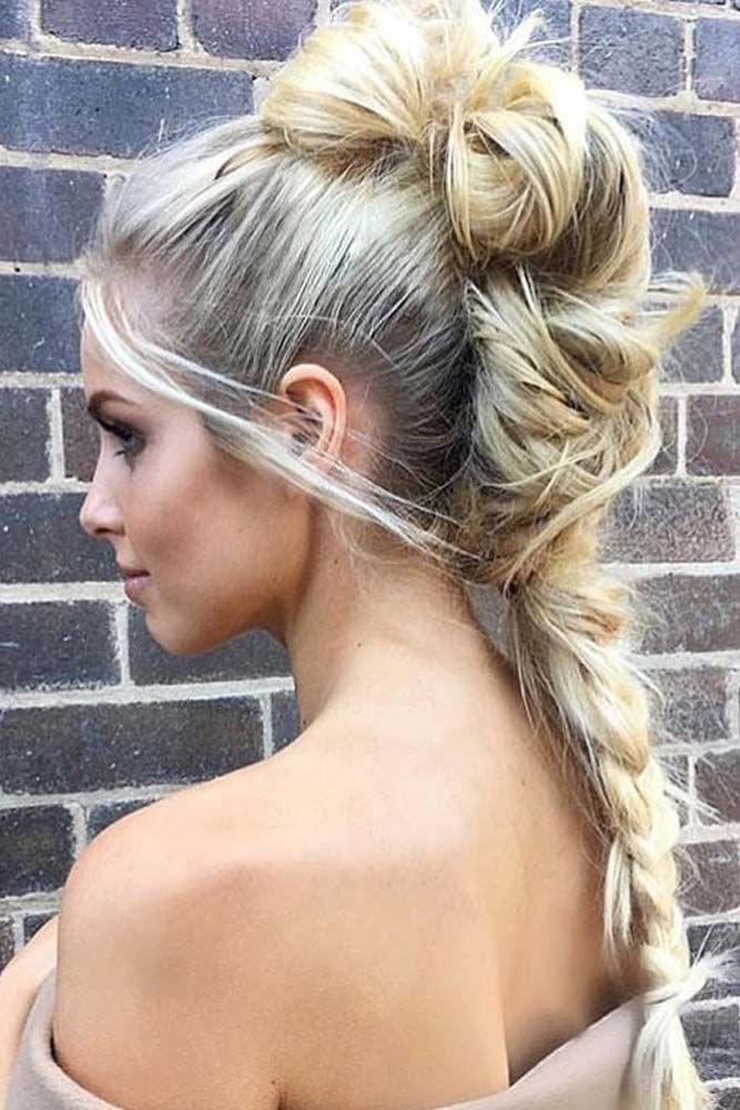Romantic Braided Hairstyle for Long Hair