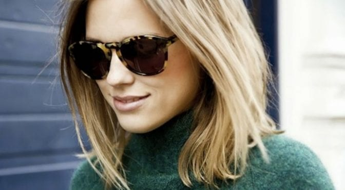 Trendy Blonde Lob