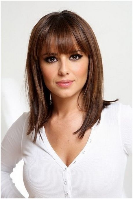 30 Women S Hairstyles With Bangs For Glamorous Look Haircuts Hairstyles 2020