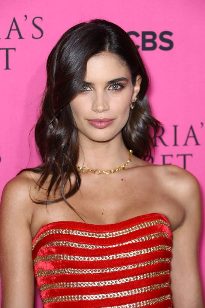 Side Swept Chocolate Brown Hair